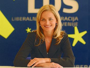 Katarina Kresal, pravnica, političarka, predsednica LDS