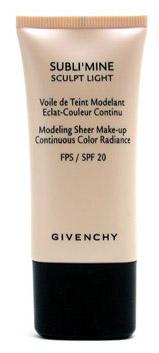Givenchy Subli'mine Sculpt Light - Modeling Sheer Make-up tekoči puder