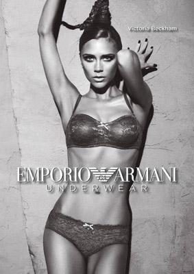Victoria Beckham za Emporio Armani