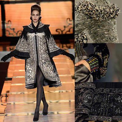 visoka moda - kolaži, vzorci