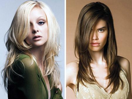 Najbolj modne frizure za leto 2011 - Dolgi in srednje dolgi lasje