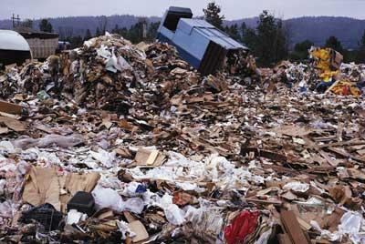 deponija odpadkov